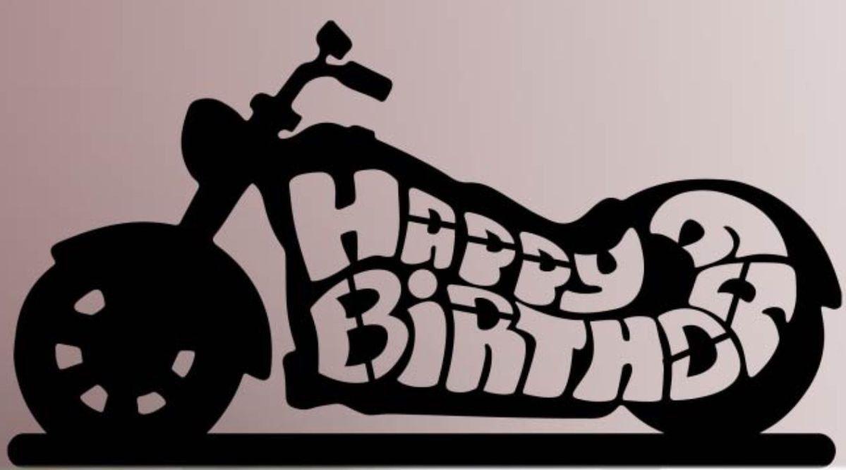 День безопасности, с днем рождения для байкера открытка